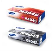 Komplet tonera Samsung CLT-K404S (crna) + CLT-M404S (ljubičasta), original