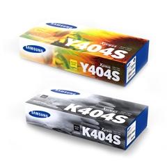 Komplet tonera Samsung CLT-K404S (crna) + CLT-Y404S (žuta), original
