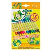 Flomasteri Jolly Brush'n'paint, 12 komada