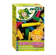 Kreda Jolly Sort, u boji, 10 komada