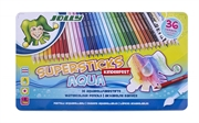 Bojice Jolly Kinderfest Supersticks Aqua, 36 komada