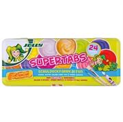 Vodene bojice Jolly Supertabs, 24 komada