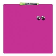 Magnetna ploča Nobo Quarter 36 x 36 cm, ružičasta