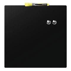 Magnetna ploča Nobo Quarter 36 x 36 cm, crna
