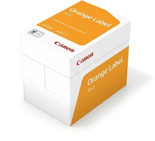 Fotokopirni papir Canon Orange Label A4, 2.500 listova, 80 g