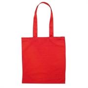 Pamučna vrećica Basic long, crvena