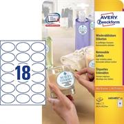 Etikete Zweckform L6024REV, 63,5 x 42,3 mm, bijele