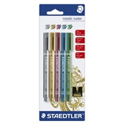 Flomaster Staedtler Metallic, 5 kom