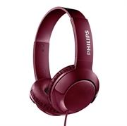 Slušalice s mikrofonom Philips Bass+ SHL3075, žičane, crvene