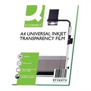 Folija za fotokopiranje Q-Connect A4, 100 mic, 50 komada