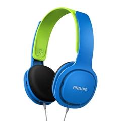 Slušalice Philips SHK2000BL, žičane, plave