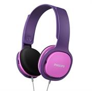 Slušalice Philips SHK2000PK, žičane, ljubičaste