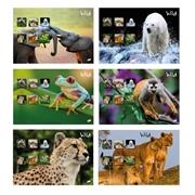 Bilježnica A4, brezcrta, 52 l, divje životinje