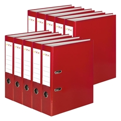 Registrator QBO A4/50 (crvena), samostojeći, 10 komada