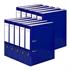 Registrator QBO A4/75 (plava), samostojeći, 10 komada