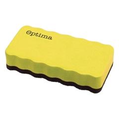 Magnetna spužva za bijelu ploču, periva, žuta
