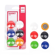 Magneti Deli, fi-30 mm, 6 kom