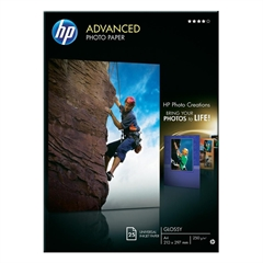 Foto papir HP Q5456A, A4, 25 listova, 250 grama