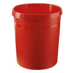 Koš za smeće Han Grip 18 L, crveni