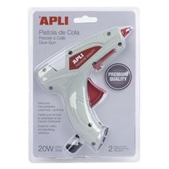 Pištolj za ljepljenje Apli Premium + 2 uloška