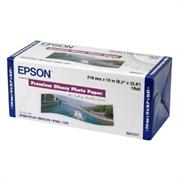 Papir Epson Premium glossy foto u roli, 210 mm x 10 m