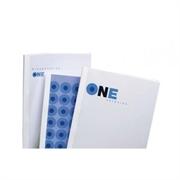 Omoti za termičko uvezivanje, 8 mm, bijela, 100 komada