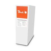 Omoti za termičko uvezivanje Peach PBT308-01, 8 mm, bijela, 10 komada