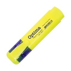 Marker fluo Optima, žuta