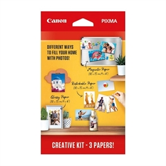 Komplet foto papir Canon Pixma Creative Kit, A6
