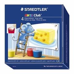 Boje za prste Staedtler Noris Club, 4 komada