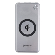 Prijenosna baterija (powerbank) Intenso WP10000, 10.000 mAh, bežična, srebrna