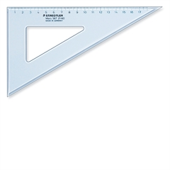 Trokut Staedtler, 60/30°, 26 cm, plavi