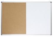 Ploča piši briši + pluto Optima, 60 x 90 cm