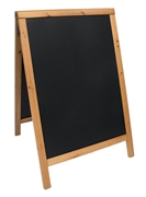 A-ploča Securit Duplo, 85 x 55 cm, drvena