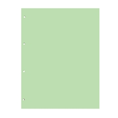 Pregrada kartonska 22,5 x 29,7 cm (A4), zelena