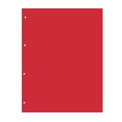 Pregrada kartonska 22,5 x 29,7 cm (A4), crvena