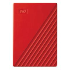 Vanjski disk WD My Passport 2019, 2 TB, crvena