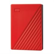 Vanjski disk WD My Passport 2019, 4 TB, crvena