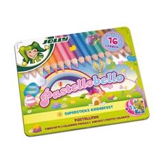 Bojice Jolly Kinderfest Pastellobello, 16 komada
