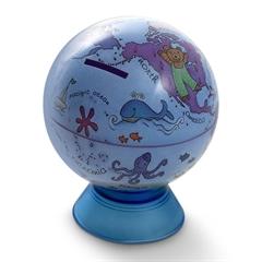 Globus Mappa&Mondo, kasica prasica, 11 cm, engleski