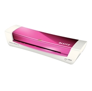 Plastifikator Leitz iLam Home Office A4, ružičasta