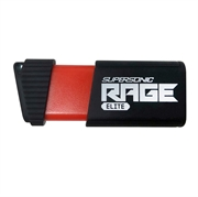 USB stick Patriot Supersonic Rage Elite 128 GB, crno-crvena