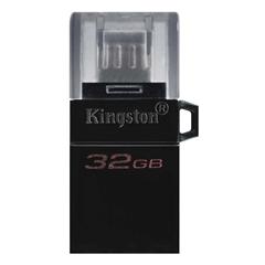 USB stick Kingston DT microDUO G2, 32 GB, microUSB i USB, crna