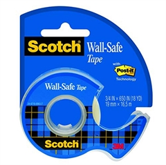 Ljepljiva traka wall-safe na držaču 3M Scotch, 19 x 16,5 mm