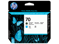 Glava za tisak HP C9404A nr.70 (matt crna, plava), original