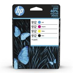 Komplet tinti HP 6ZC74AE nr.912 (BK/C/M/Y), original