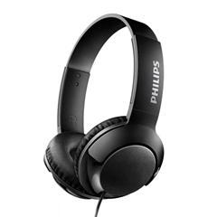 Slušalice s mikrofonom Philips Bass+ SHL3075, žične, crne