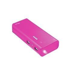 Prijenosna baterija (power bank) Trust (10.000 mAh), ružičasta