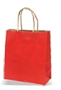 Poklon vrećica, srednja, crvena