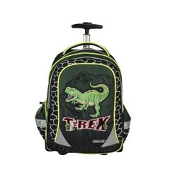 Školski ruksak na kotačima Univerzal Trolly, Dino